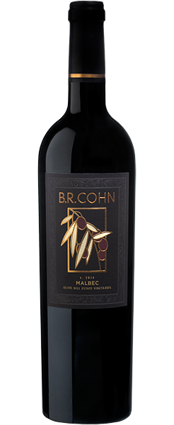 2014 Sonoma Valley Malbec Olive Hill Estate - Bottle Shot