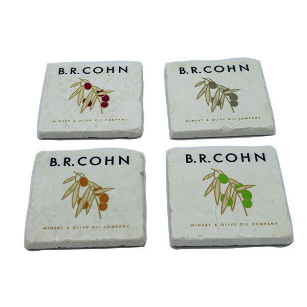 BR Cohn Stone Coasters Set of 4