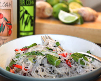 Ginger Lime Noodle Salad