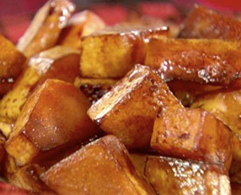Roasted Butternut Squash with Balsamic Vinegar