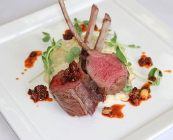 Spring Lamb with Cabernet Vinegar Reduction